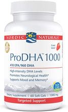 Load image into Gallery viewer, Nordic Naturals ProDHA 1000 - Medical Grade Nutrients