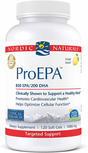 Nordic Naturals ProEPA 180 Gels - Medical Grade Nutrients