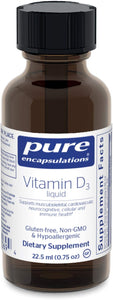 Vitamin D3 liquid 22.5 ml - Medical Grade Nutrients