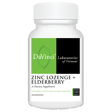 Zinc Lozenge + Elderberry 60 lozenge - Medical Grade Nutrients