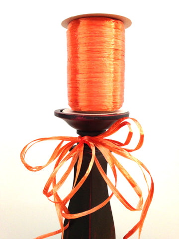 Raffia Single - Orange