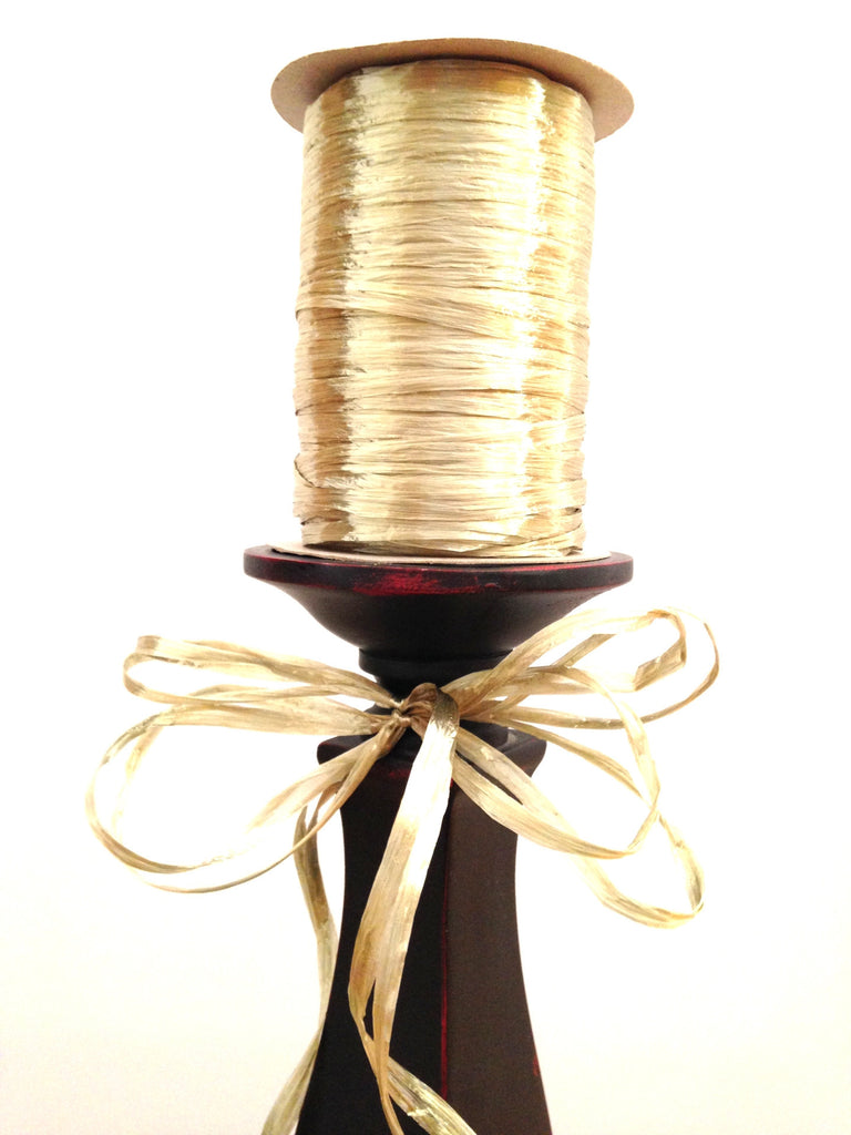 Raffia Single - Champaigne