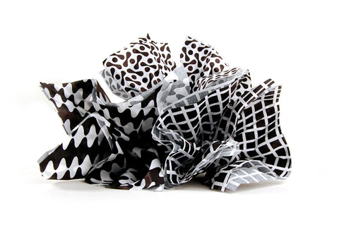 Tissue Trio – Black & White
