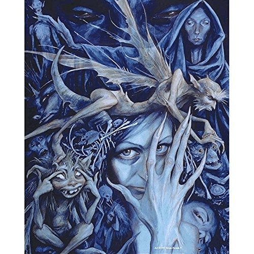 Queen of the bad faeries by Brian Froud - 8x10 inch ceramic tile