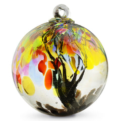 Shangri La Spirit Tree Glass Ball 6""