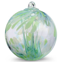 Waters Spirit Tree Glass Ball 6""