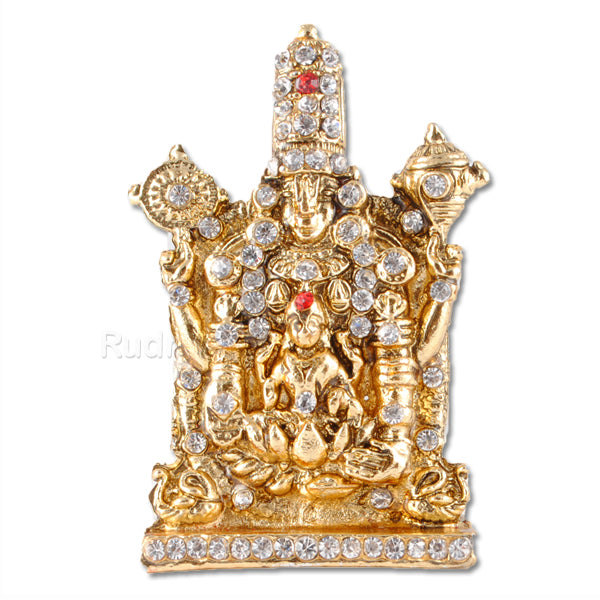 Lord Tirupati with Goddess Padmavati