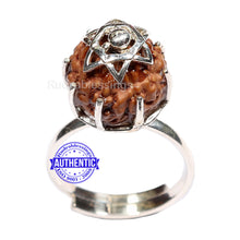 Load image into Gallery viewer, 8 Mukhi Indonesian Rudraksha Ring - 2