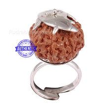 Load image into Gallery viewer, 8 Mukhi Indonesian Rudraksha Ring - 18