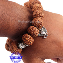 Load image into Gallery viewer, 8 Mukhi Rudraksha Wrist Band - Type 1