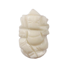 Load image into Gallery viewer, White Coral / Moonga Ganesha - 16