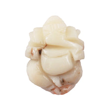 Load image into Gallery viewer, White Coral / Moonga Ganesha - 26