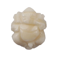 Load image into Gallery viewer, White Coral / Moonga Ganesha - 46