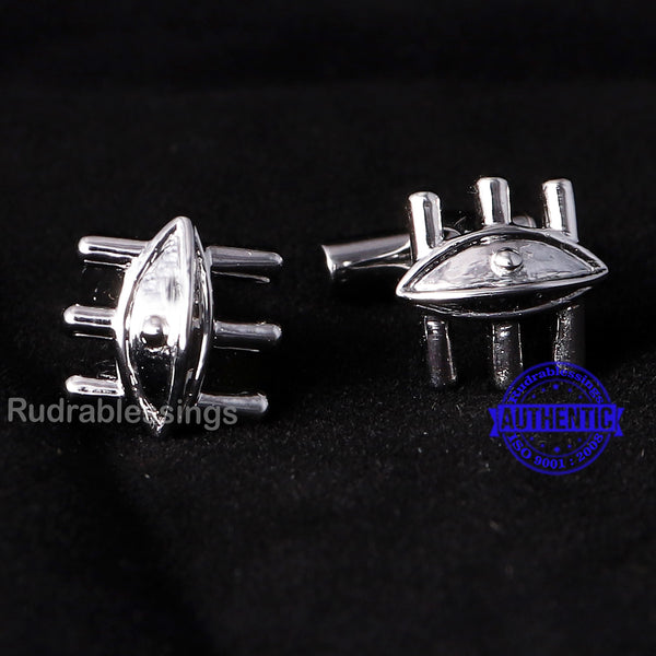 Lord Shiva 3rd Eye Cufflinks - 4