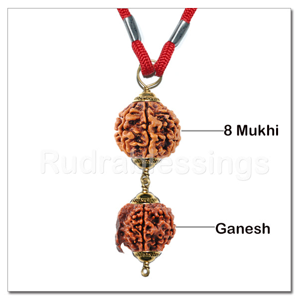 Lord Ganesha's Obstacle Remover Pendant From Nepal