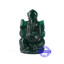Load image into Gallery viewer, Green Jade Ganesha Statue - 108 G
