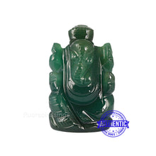 Load image into Gallery viewer, Green Jade Ganesha Statue - 108 i