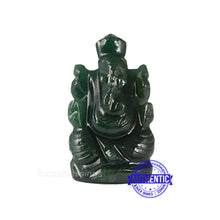 Load image into Gallery viewer, Green Jade Ganesha Statue - 108 L
