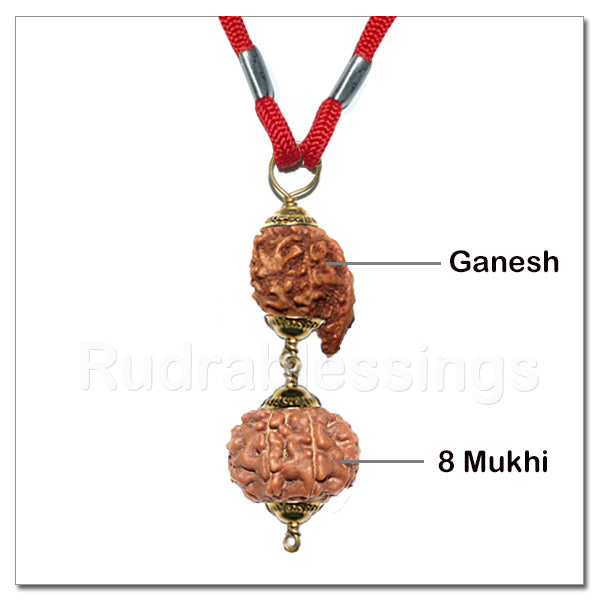 Lord Ganesha's Obstacle Remover Pendant From Indonesia