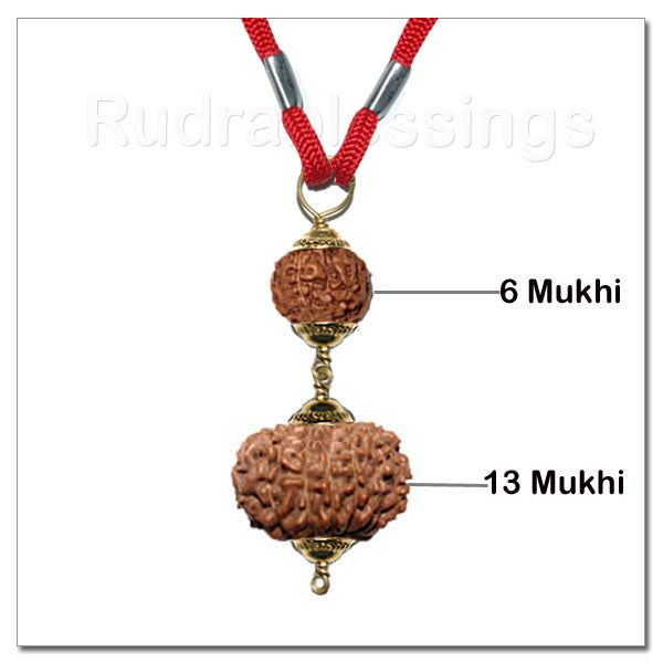 Rudraksha Mohini / Attraction Pendant From Indonesia
