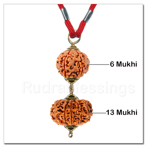 Rudraksha Mohini / Attraction Pendant From Nepal
