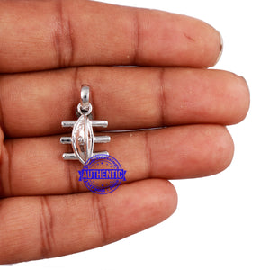 Lord Shiva 3rd Eye Pendant - 2