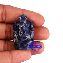 Load image into Gallery viewer, Sodalite Ganesha Statue - 95 A