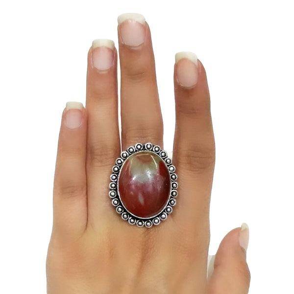 Fancy Jasper Ring - 47