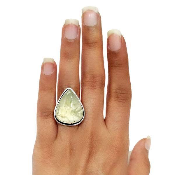 Guava Agate Ring - 7