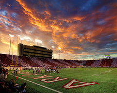 Razorback Sunset | War Memorial Stadium | Little Rock | Arkansas | Photograph