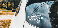 Arkie Travels Decal