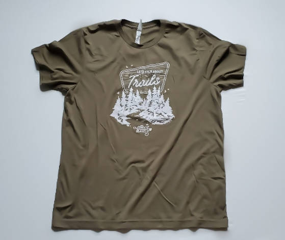 Let's Talk About Trails Tee