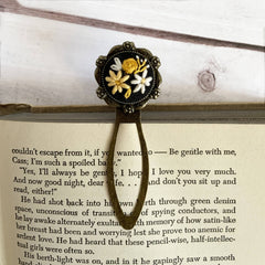 Embroidered Monotone Bookmark (Choose One)