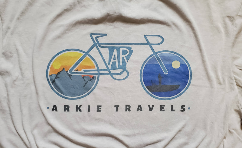 Arkie Travels Bike Tee