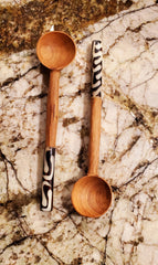 Handmade Kitchen Tea/Coffee Spoon Olive Wood, one(1) ( SOLD SINGLY)