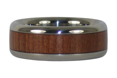 Redwood Titanium Ring
