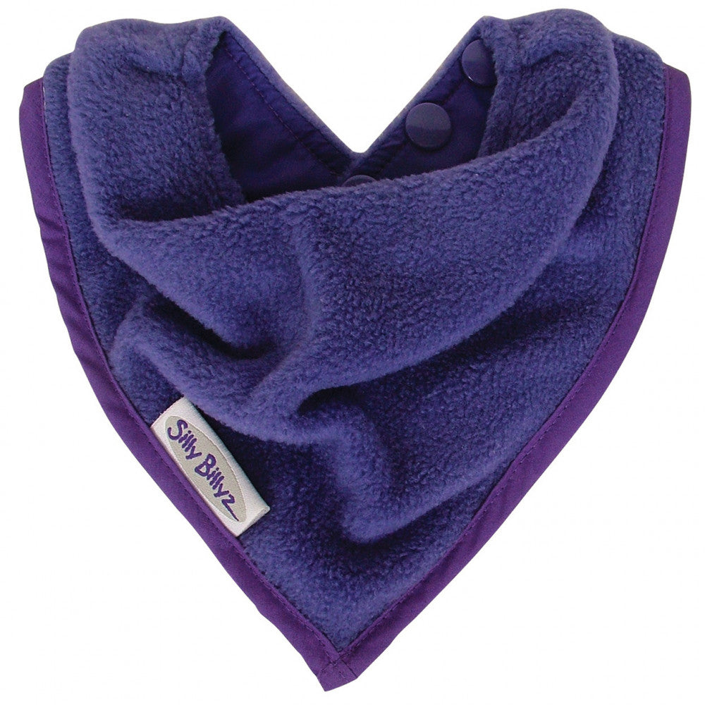Silly billyz bandana bibs purple