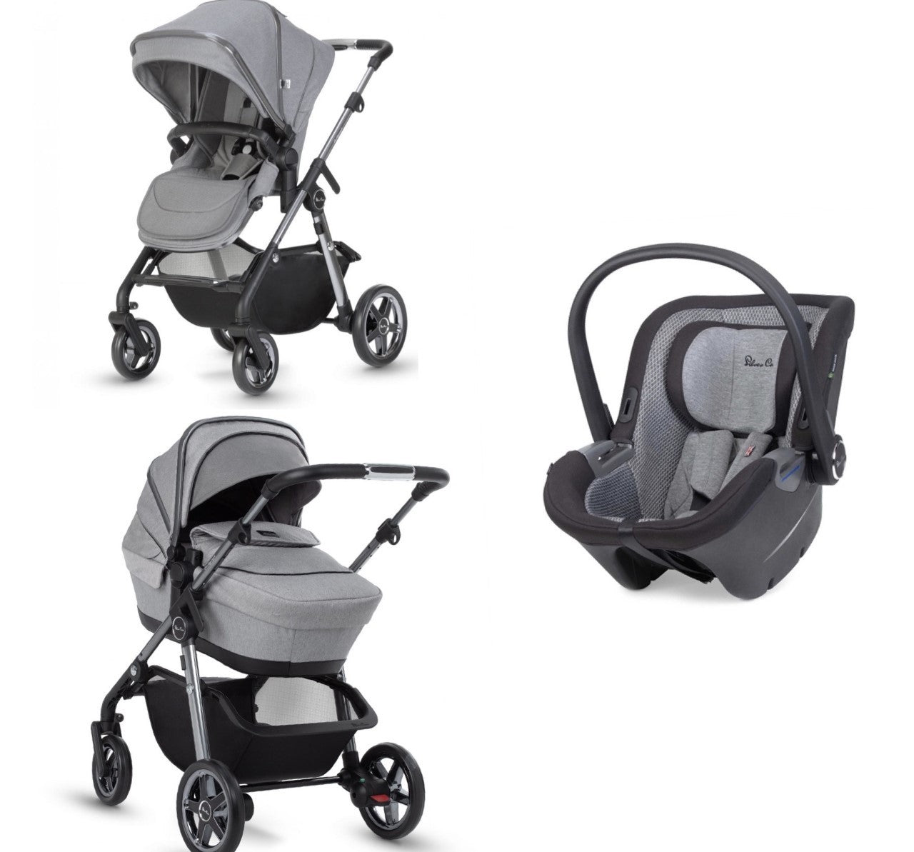 Silvercross Pacific Autograph With Dream Car Seat - Rock
