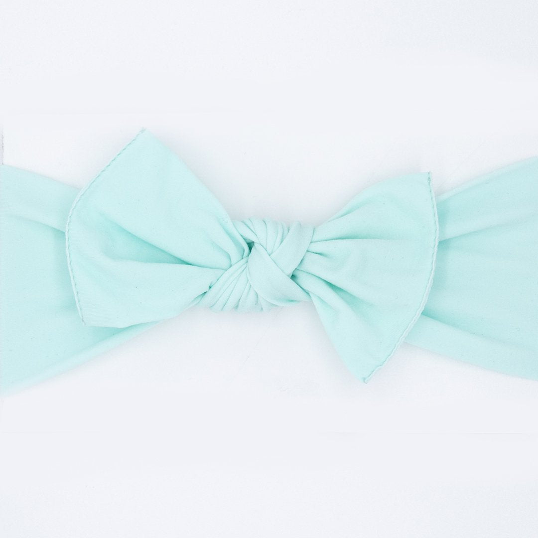 Little Bo Pip - Mint Pippa Bow Small