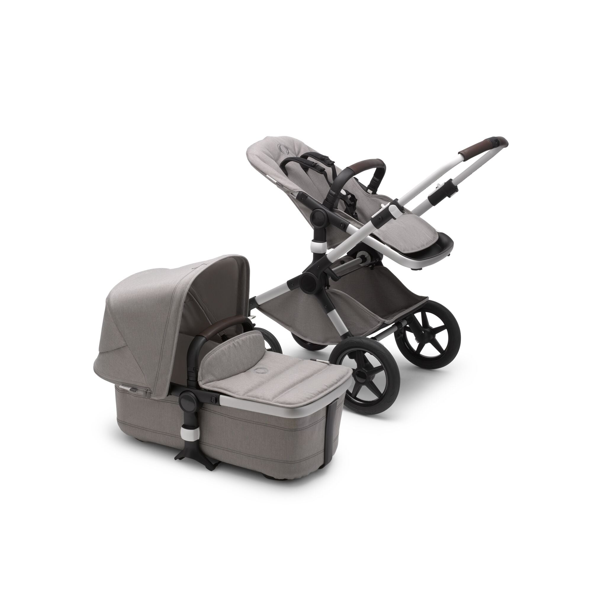 Bugaboo Fox2 Mineral Complete Alu/light Grey