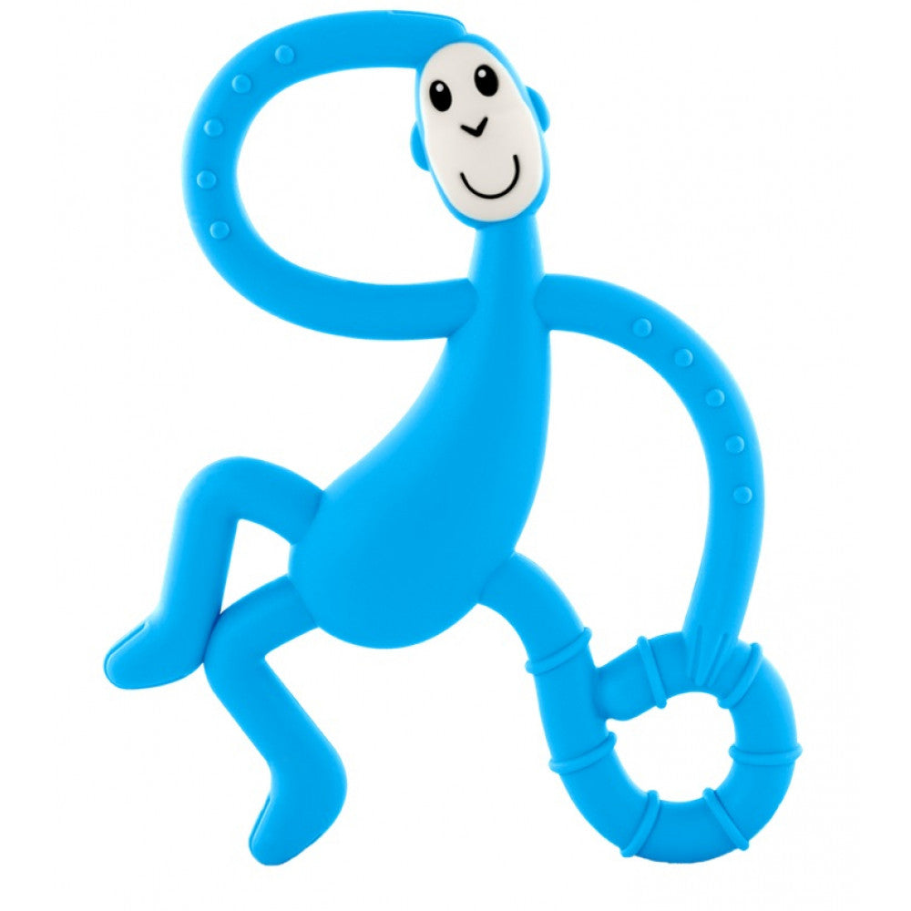 Matchstick Monkey - Dancing Monkey Teether Light Blue