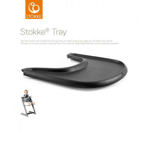 Stokke - Tray For Tripp Trapp Black