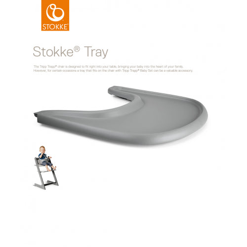 Stokke - Tray For Tripp Trapp Storm Grey