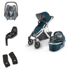 Uppababy Vista V2 With Pebble Pro & FamilyFix3 Base Package