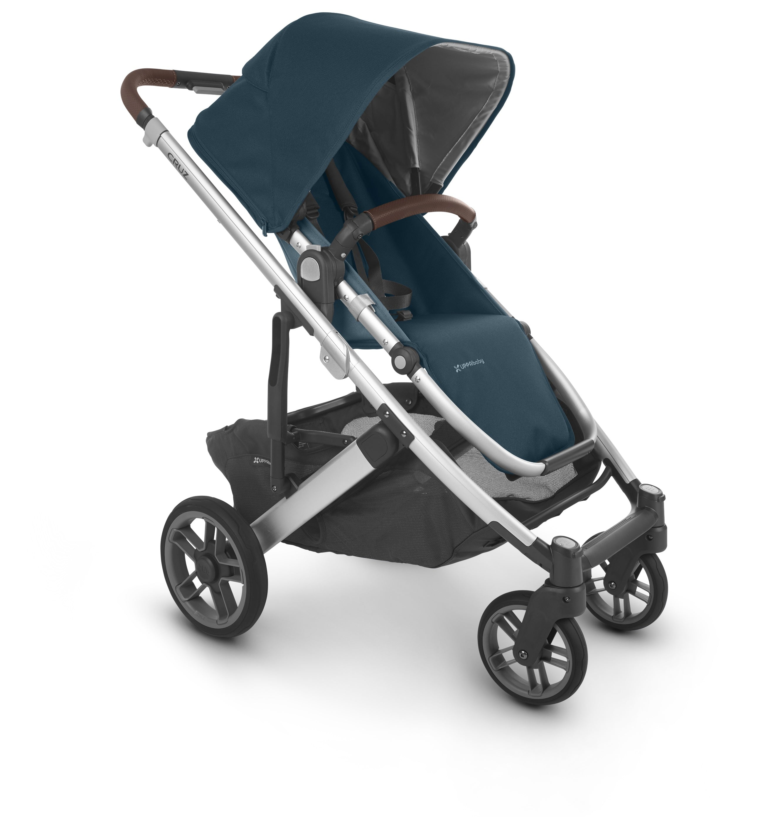 Cruz 2 Stroller - Finn (deep Sea/silver/saddle Leather)
