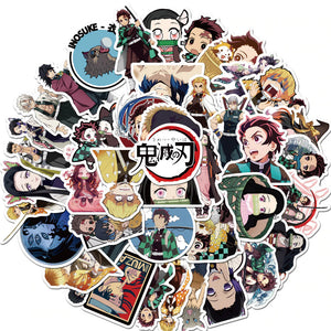 50PCS Demon Slayer  Sticker