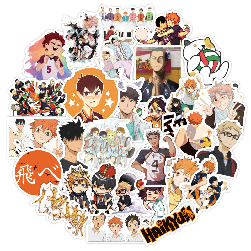 50pcs Haikyuu!! Stickers