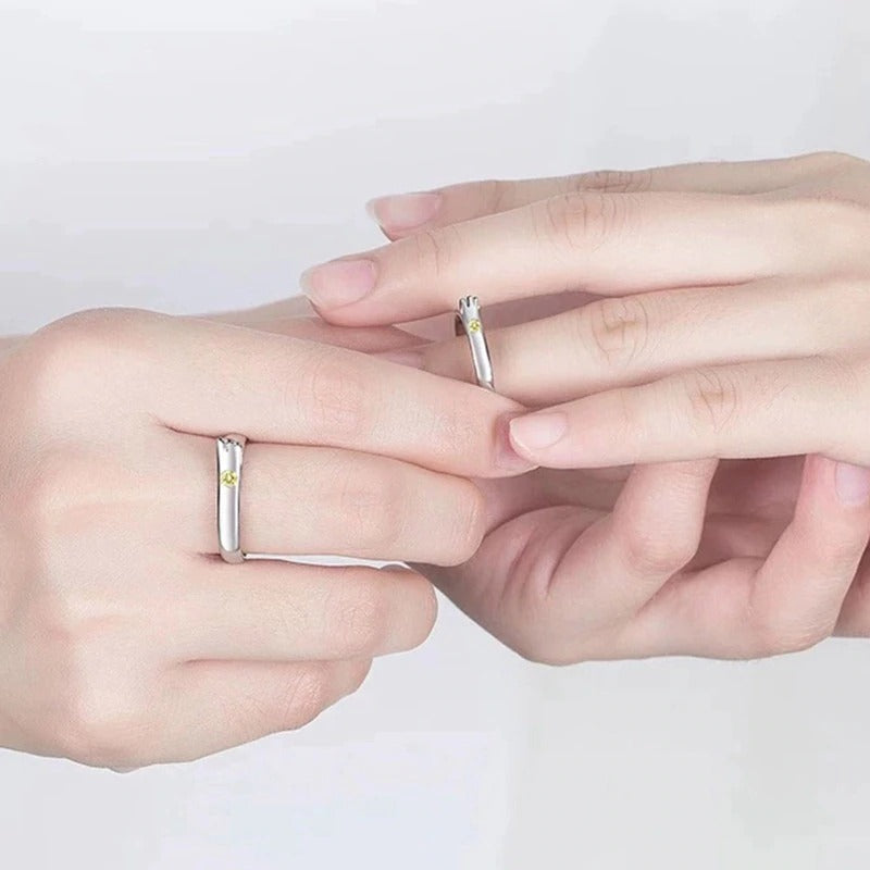 Weathering With You Couple Ring