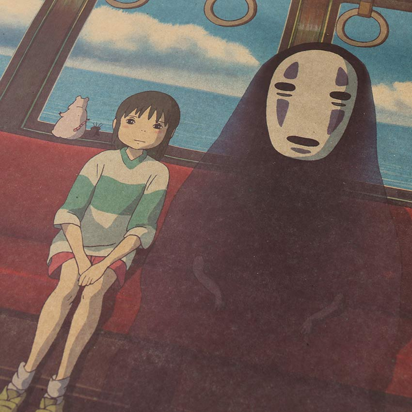 Chihiro and No Face Poster