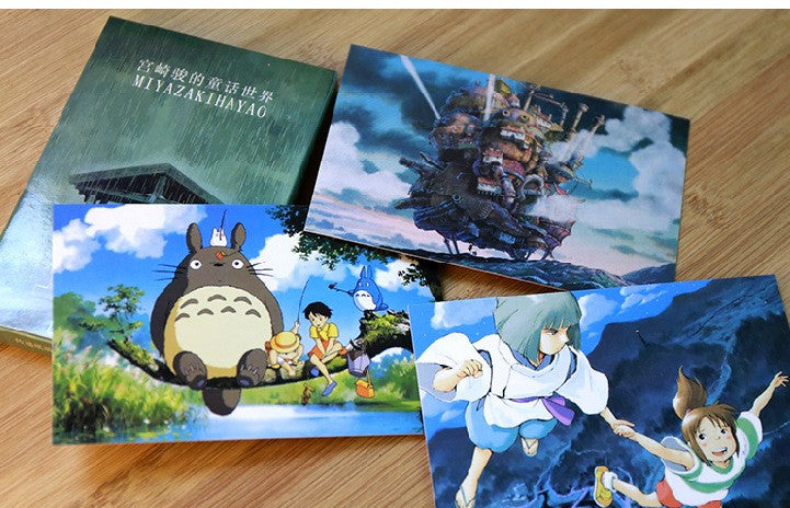Studio Ghibli Postcards 30 Pcs